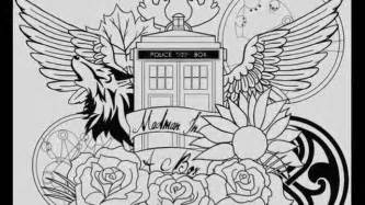 doctor who tattoo designs and ideas youtube