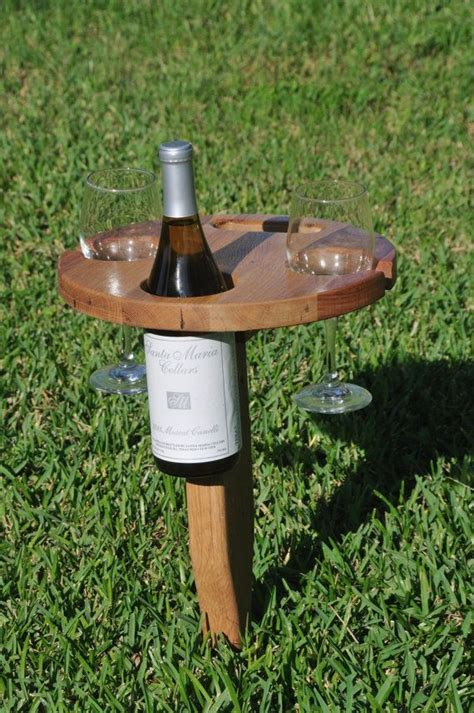 outdoor wine glass holder table folding outdoor wine table with carry handle picnics
