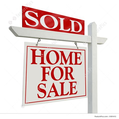 Open House Plans by Signboards Sold Home For Sale Real Estate Sign Stock