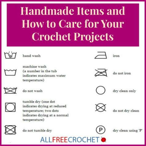 how to care for a caring for crochet items 8 tips you need to allfreecrochet