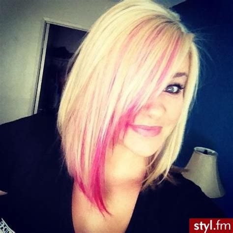 blonde bob pink highlights 14 charming blond hairstyles with red highlights pretty