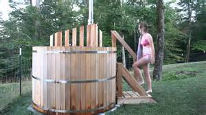 Vermont sauna and hot tub wood fired saunas and tubs hand built in