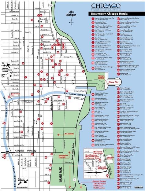 map of downtown chicago map of downtown chicago hotels chicago maps things hotels chicago hotels