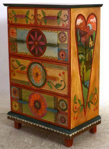 decorative painting on furniture 17 best images about painted stuff on pinterest folk art