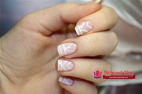imagenes de uñas decoradas con rayas u 241 as decoradas con lineas blancas youtube