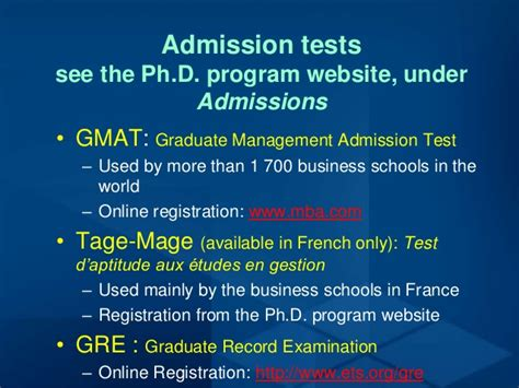 Hec Montreal Mba Gmat Score by Hec Montr 233 Al Ph D In Adminstration A Strategic Choice