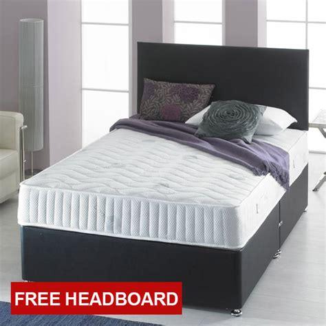 divan beds with headboard giltedge beds visco bonnell 4ft 6 double divan bed