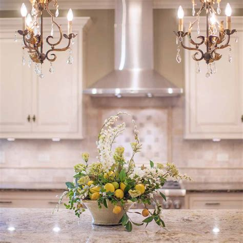 kitchen flower arrangements home design