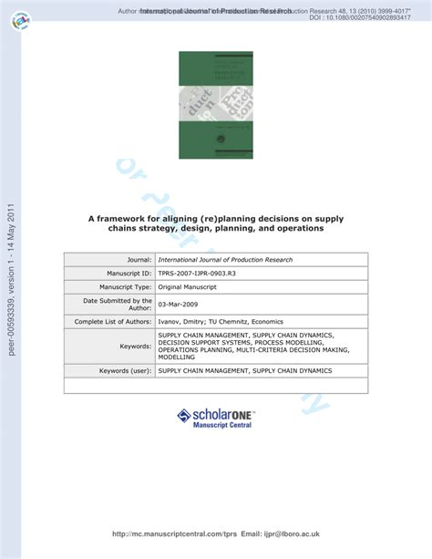 strategic design research journal unisinos a framework for aligning re planning pdf download