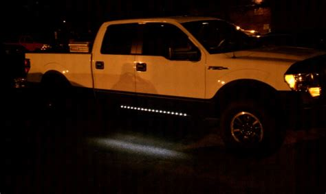 truck running board lights led running board puddle lights page 5 ford f150 forum
