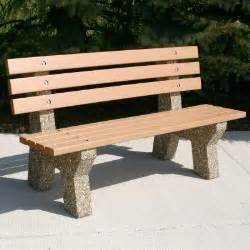 concrete and wood bench 25 best ideas about concrete bench on pinterest