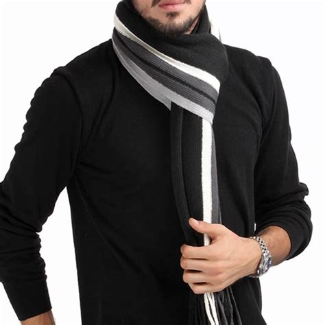 winter design striped scarf shawls scarves 2016