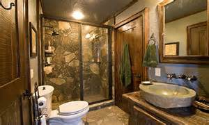 luxury cabin bathroom ideas rustic cabin bathrooms bath
