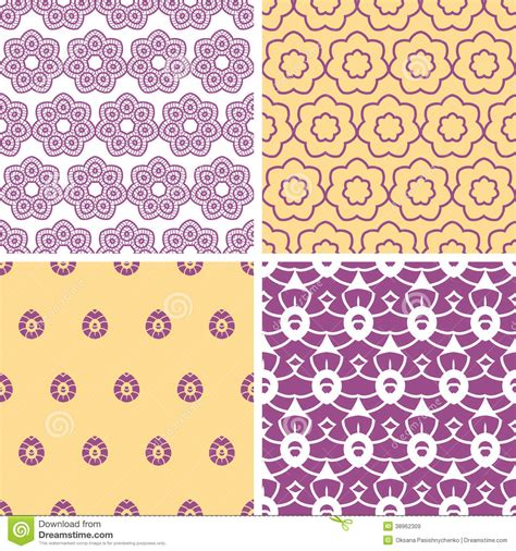 vector pattern matching image gallery oriental purple background