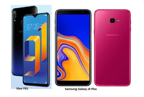 Vivo Y91 Vs Samsung A10 by Tspn1 Samsung Galaxy J4 Plus Vs Vivo Y91 Comparisons