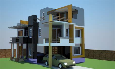 Home Plan Design 4 Bhk by Portfolio Decor N Design 187 Exteriors 3d 187 Residential