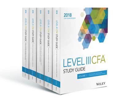 Cfa Level 3 2018 Hardcopy Printed Version level 3 cfa study guide wiley cfa