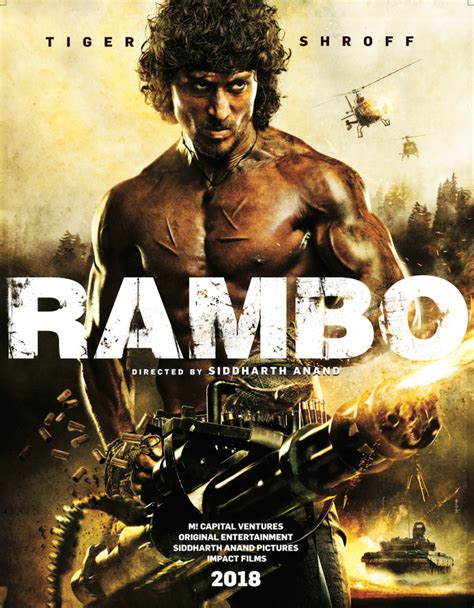 film rambo movie first look at rambo poster indian remake coming in 2018