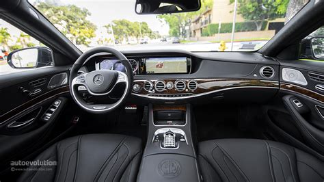 Mercedes S63 Amg Interior by Mercedes S63 Amg 4matic Original Pictures Autoevolution