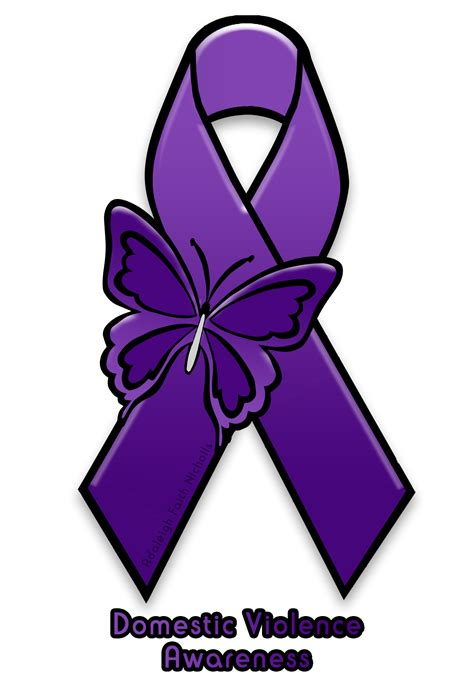 Domestic Violence Also Search For Domestic Violence Awareness Ribbon V1 By Adaleighfaith On Deviantart