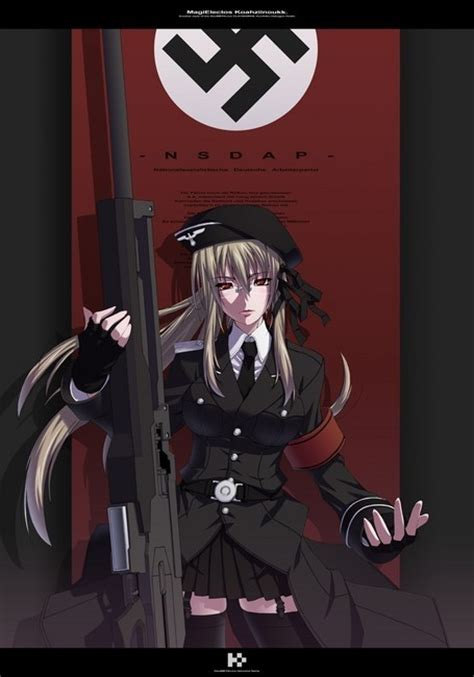 anime nazi girl wallpaper fanpop lonewolf2272 s photo anime nazi chick