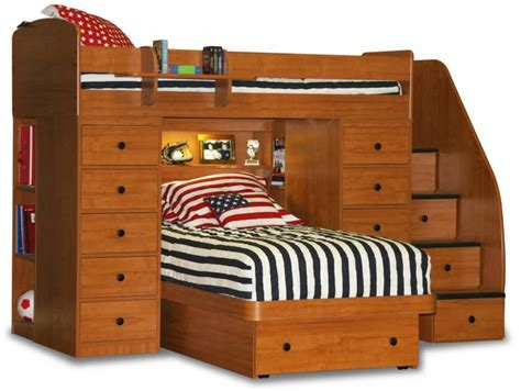 Minimalist Bed Frame 24 Designs Of Bunk Beds With Steps Kids Love These
