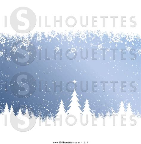 blue christmas service clip art silhouette clipart of a cold wintrey blue background with snow and snowflakes falling white