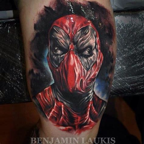 deadpool tattoos deadpool