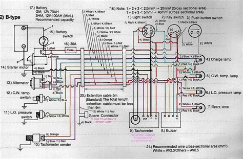 yanmar starter motor wiring diagram wiring diagram with