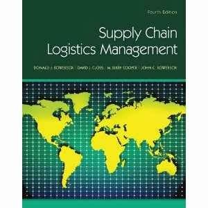 Michigan State Mba Supply Chain by Supply Chain Logistics Management 4th Edition
