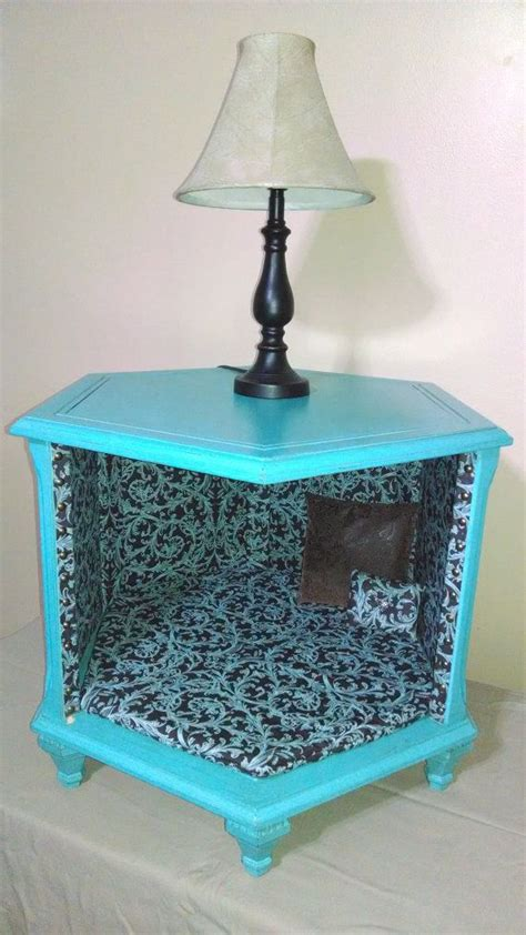 Bed End Table by Adorable Octagon End Table Or Cat Bed For Room