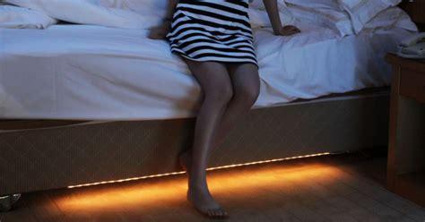 under bed lighting under the bed night light drunkmall