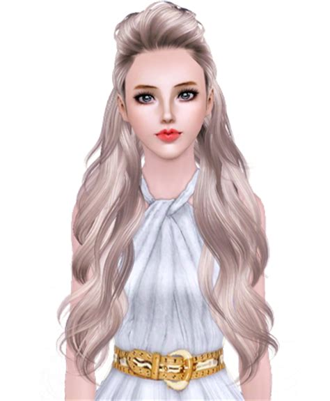 sims 3 custom content middle east sims3 hair converted to sims4 hair bebe brillit