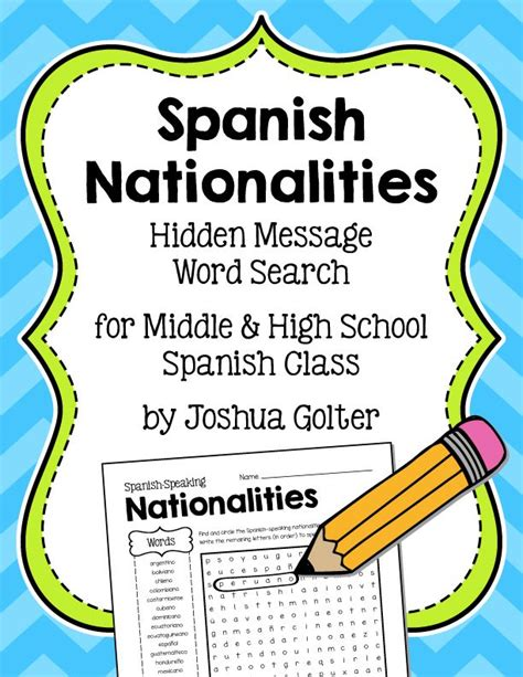 free printable word searches nutritionally speaking 17 best images about spanish on pinterest spanish