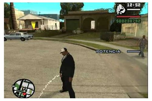 mod pokemon para descargar gta san andreas pc