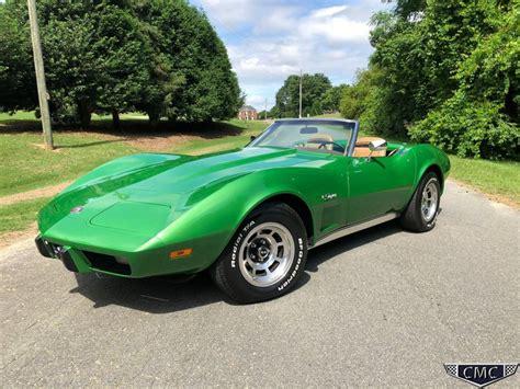 1975 Chevrolet Corvette Stingray For Sale 37 Used Cars From 6 325 1975 Chevrolet Corvette Stingray Roadster For Sale 89745 Mcg
