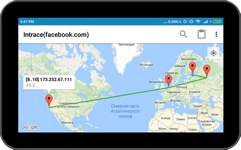 tracert android intrace visual traceroute 1mobile