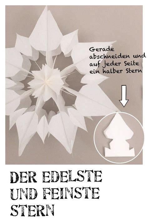 Weihnachtssterne Aus Papier Basteln by Aus Papier Anleitung Weihnachtsstern Basteln