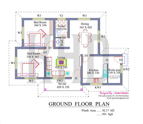 home design free plans kerala model house plans free 3103