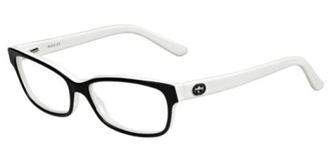 gucci black white glasses frames designer specs