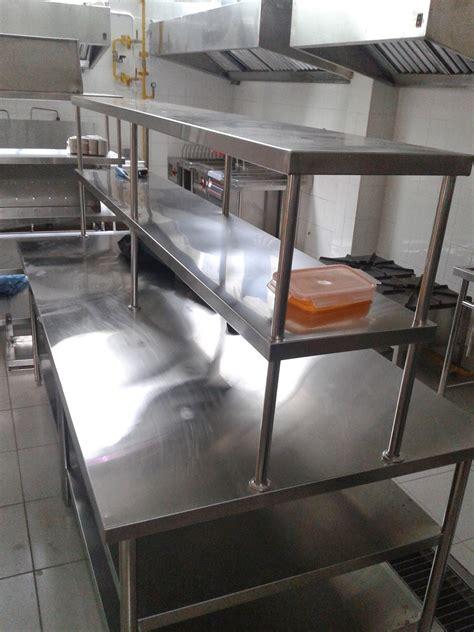 harga meja dapur stainless steel desainrumahidcom