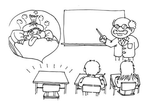 dibujos para colorear de clase dominical ausencia de ni 241 o a clases por enfermedad para colorear y