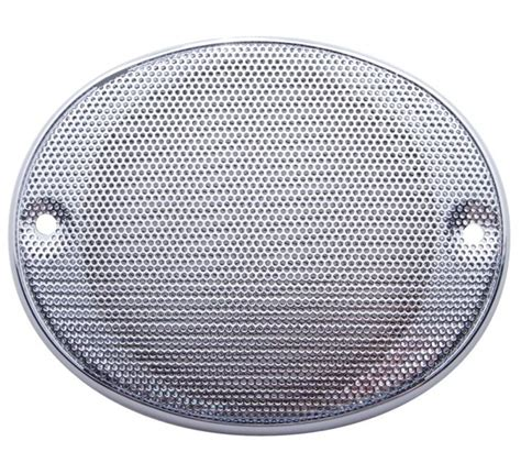 Speaker Oval oval c b speaker cover for international and kenworth audio truck chrome parts for your big rig