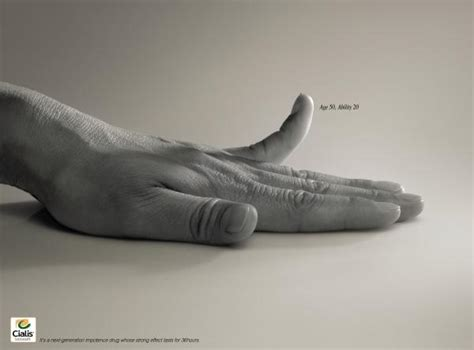 cialis print ad cialis impotence remedy quot age 50 ability 20 quot print ad by
