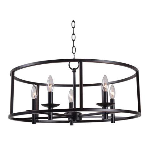kenroy chandelier kenroy home arlen 5 light bronze chandelier 93265orb the