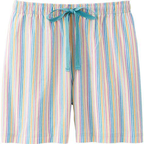 Uniqlo Relaco 1 uniqlo relaco shorts stripe in green lyst