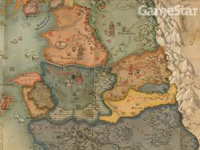 The Witcher World Map by Ot An Sjws Thoughts On The Witcher 2 And Maturity