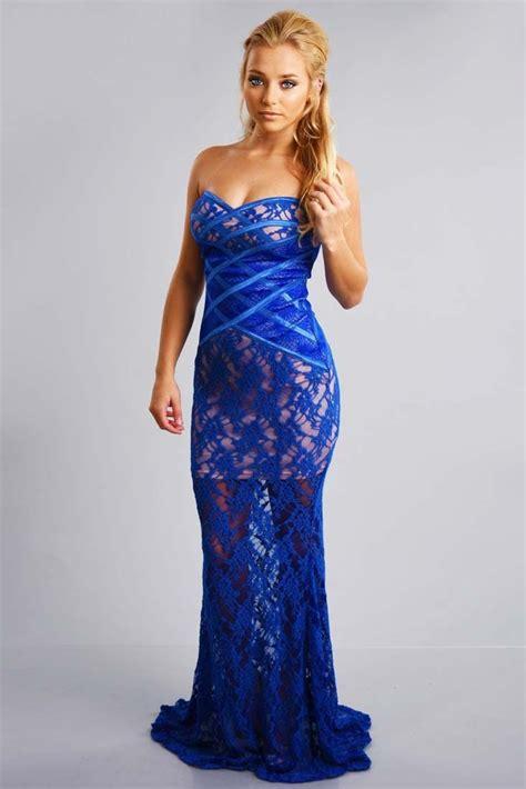 Dress Wanita Maxi Royal Balotelly gorgeous gown maxi dress royal blue shophopes s