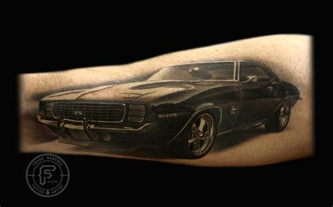 camaro tattoo frank tattoos car 69 camaro