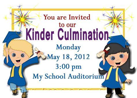 free pre k graduation greeting card templates for free printable kindergarten graduation announcements
